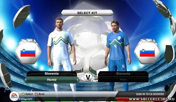 Небольшой патч, который поменяет фон в FIFA 13 на стиль Лиги Чемпионов.